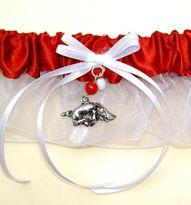 Arkansas razorbacks wedding garter