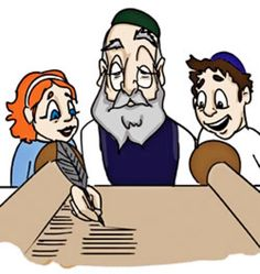 I DID STUDY TORAH WITH RABBIS'S COMMENTS FROM MORNING UNTIL NOON!  BUENISIMO!  DELICIOUS!