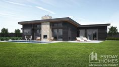 Choose from our large selection of Architectural house plans. We have a range of small homes to mid-sized home designs that will get you excited about the possibilities of building your new home. Smart Home Design, Home Design Plans, Plan Design, Cool Fire Pits, Garden Fire Pit, Architectural House Plans, Rural House, Rose Cottage, Modern House Plans