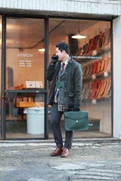 layered style, street fashion from hongdae, seoul, korea