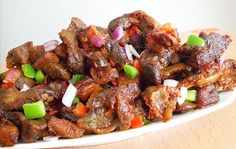 Dodo gizzards (Gizdodo recipe)- Nigerian Gizzards and Plantains