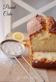Cake's Amore... and more: pound cake