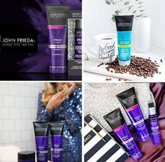 John Frieda is offering Free Samples from their Frizz Ease collection!  Choose up to 2 samples from the following: Frizz Ease Dream Curls Frizz Ease Forever Smooth Frizz Ease Miraculous Recovery Brilliant Brunette, Free Hair, Free Samples, Miraculous, Recovery, Curls, Smooth, Beauty, Collection