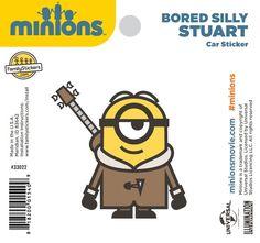 Bored Silly Stuart Sticker - 33022 $2.98
