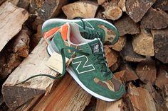 ball and buck new balance 574 mountain green.