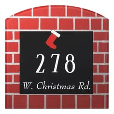 Christmas Road Door Sign - eye catching unique special gift ideas