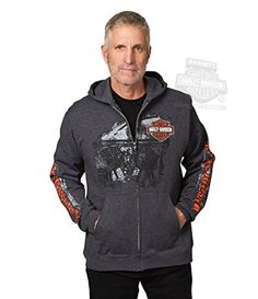 On Sale 29.99 Harley-Davidson Mens Iron Will Motor with B&S Full Zip Charcoal Long Sleeve Hoodie – LG http://bikeraa.com/harley-davidson-mens-iron-will-motor-with-bs-full-zip-charcoal-long-sleeve-hoodie-lg/