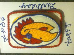 Jayhawk Cake