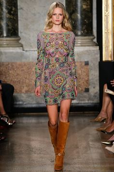 Ways to wear crochet this spring/summer 2015 (Vogue.co.uk)  Click through for full gallery.