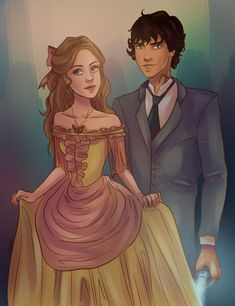 Tessa Gray and Will Herondale
