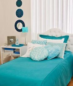 20 teenage girl bedroom decorating ideas pinterest tiffany blue