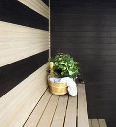 Laine panels, UPM sauna