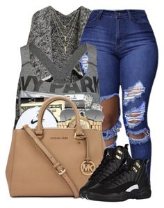 """""""Untitled #295"""" by cupcakegirl1126 ❤ liked on Polyvore featuring Ivy Park and Ray-Ban"""