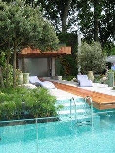 Glamourous pool.