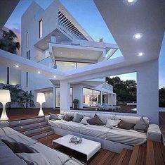 My Dream Home - Wohnung / Haus - Quotes Dream Home Design, Modern House Design, My Dream Home, Modern Houses, Fancy Houses, Houses Houses, Dubai Houses, Dream Job, Future House