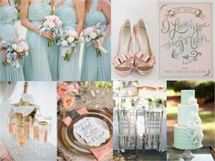 Mint Green, Blush Pink, Gold Wedding Inspiration Board Details Ideas | DIY Do's and Don'ts | Leigh Pearce Weddings, Greensboro North Carolina Wedding Planner