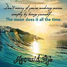 Make Waves!  http://www.mermaidlife.me #MermaidLife #OvertheWaveWednesday #wednesday