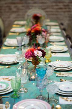 wedding tables & cen