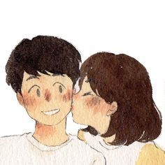Cartoon Kunst, Anime Kunst, Cartoon Art, Anime Art, Love Cartoon Couple, Anime Love Couple, Cute Anime Couples, Paar Illustration, Couple Illustration
