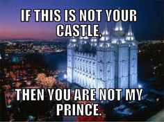 Such a cute saying for dating LDS boys. Especially in high school (: