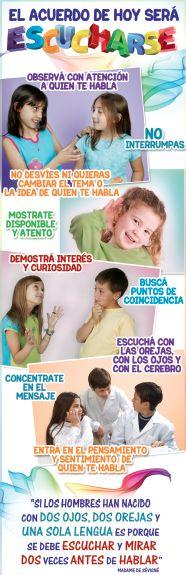 ¿Se aprende a escuchar? - Consigue este póster para imprimir en la versión digital de la revista Dificultades de Aprendizaje - Disponible en EDIBA Player - www.player.ediba.com