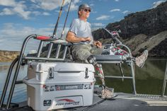 Fish Fighter™ Products is an authorized retailer of Yukon® coolers, and with this collaboration we proud to offer the Fish Fighter™ Series of Yukon® coolers. The Fish Fighter™ Pro Team has field tested dozens of coolers for years and found that Yukon® coolers deliver on all levels. Every feature is designed for the rugged outdoors but have not sacrificed any ease of use. Strong durable hinges, T-grip lid handles, and a large tethered drain plug make these coolers the best around.