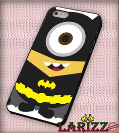 """Batman Despicable Minion for iPhone 4/4s, iPhone 5/5S/5C/6/6 , Samsung S3/S4/S5, Samsung Note 3/4 Case """"007"""""""