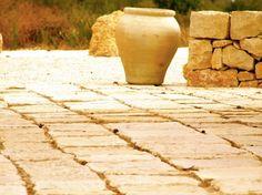 Dry Stone Wall, Noto, Val di Not, Montalbano, Sicily, Italy, Detail