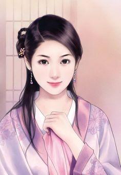 love chinese art 中国美人画