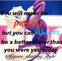Figure skating quote It's a figure skating quote, but it could be used for anything. Ice Skating Quotes, Figure Skating Quotes, Figure Skating Dresses, Ice Skating Pictures, Skate 3, Ice Show, Ice Skaters, Sport Quotes, Roller Skating