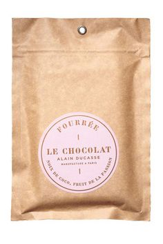 Alain Ducasse Chocolate Packaging