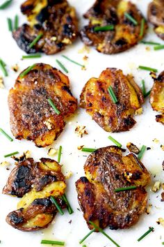 from around the internet smashed potatoes with gouda and horseradish ...