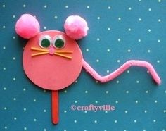 mouse crafts for kids