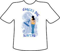 I'm selling Chicks Dig Surfers - $20.00 #onselz