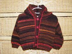 Jasper Hooded Jacket  Knitting Pattern $4.00
