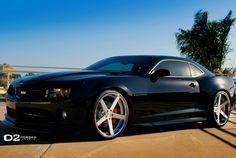 BLACK CAMARO SS – D2FORGED CV2 DEEP CONCAVE | D2FORGED Wheels Gallery