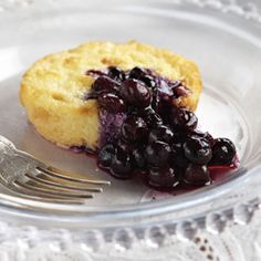 Recipe: Baked Ricotta with Blueberry Sauce   - Delish.com