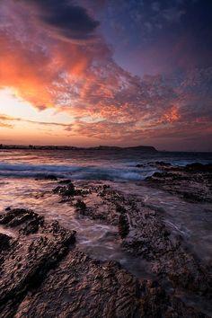 Sunset @ Currumbin Alley, Gold Coast, Australia