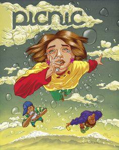 PICNIC Ilustracional 2012 by Abraham Balcázar Rodríguez, via Behance