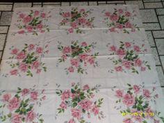 Vintage 1950s Wilendur Cotton Cottage Tablecloth by Hannahsatticmt, $16.95