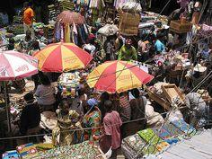Market, Lagos, Nigeria - community action for sustainability - CASwiki St Helena, Guinea Bissau, Ivory Coast, West Africa, Sierra Leone, Island, Sustainability, Thinking Of You, This Is Us