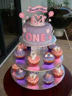 1st birthday girl ideas cake - Bing Images
