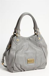 MARC BY MARC JACOBS 'Classic Q - Fran Small' Shopper in Storm Cloud