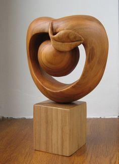 Apple symbol of New York city wood от WoodSculptureLodge на Etsy
