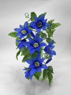 Фотография/цветы из бисера /