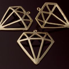 3197014 / Diamond / Matt Gold Plated Pewter Pendant x / / Pewter, Plating, This Or That Questions, Item Number, Diamond, Pendant, Gotham, Numbers, Gold