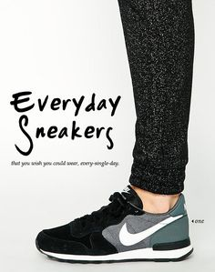 Sneakers have been an element of the world of fashion more than you may think. Modern day fashion sneakers bear little similarity to their earlier forerunners but their popularity remains undiminished. Nike Shoes For Sale, Nike Shoes Cheap, Nike Free Shoes, Nike Shoes Outlet, Running Shoes Nike, Cheap Nike, Sneakers Mode, Sneakers Fashion, All Black Sneakers