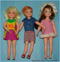 Barbie Doll's Little Sister Tutti, and friends Todd, & Chris