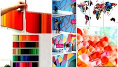 45 Smart Creative & Beautiful DIY Wall Art Ideas For Your Home