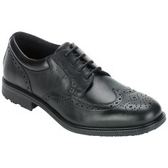 Buy Rockport Essent Brogue Waterproof Leather Derby Shoes | John Lewis